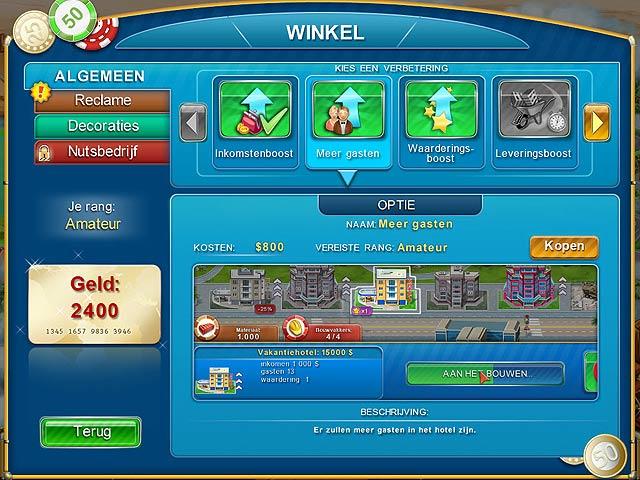 Spel Screenshot 3 Hotel Mogul: Las Vegas
