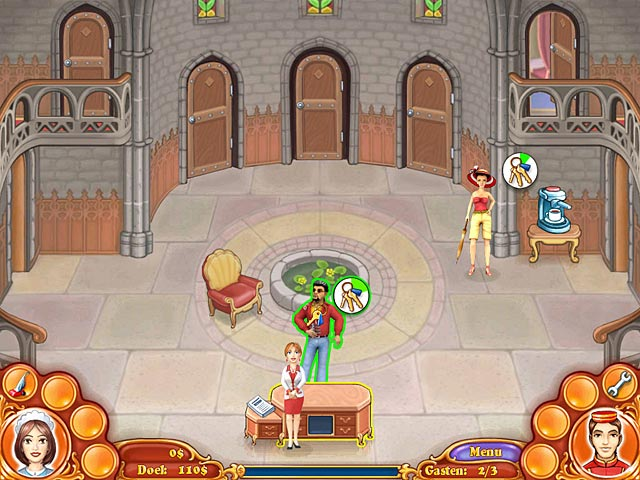 Spel Screenshot 3 Jane's Hotel: Family Hero