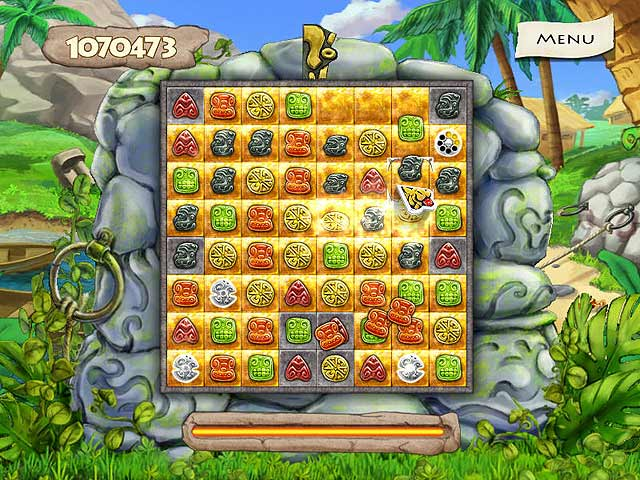 Spel Screenshot 1 Jewel Keepers: Easter Island