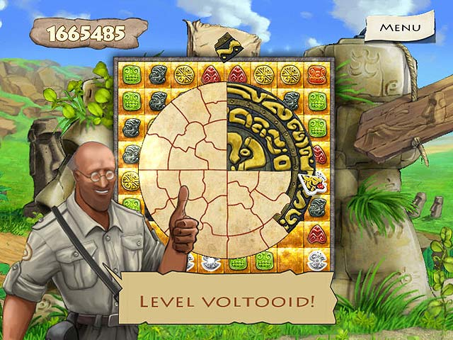 Spel Screenshot 2 Jewel Keepers: Easter Island