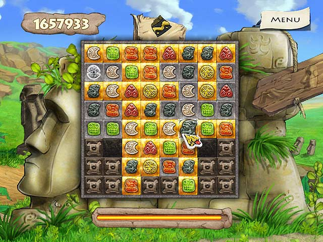 Spel Screenshot 3 Jewel Keepers: Easter Island