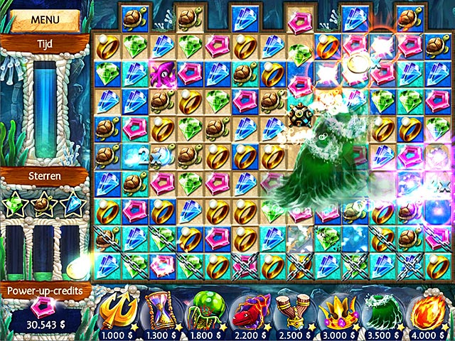 Spel Screenshot 2 Jewel Legends: Atlantis