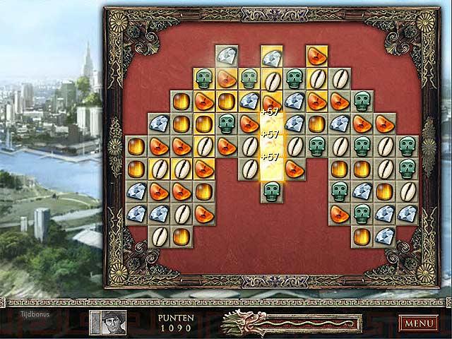 Spel Screenshot 3 Jewel Quest: De Saffieren Draak