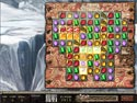 1. Jewel Quest: De Saffieren Draak spel screenshot