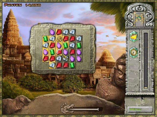 Spel Screenshot 2 Jewel Quest Solitaire 3