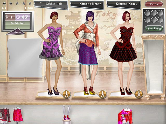 Spel Screenshot 1 Jojo's Fashion Show: World Tour