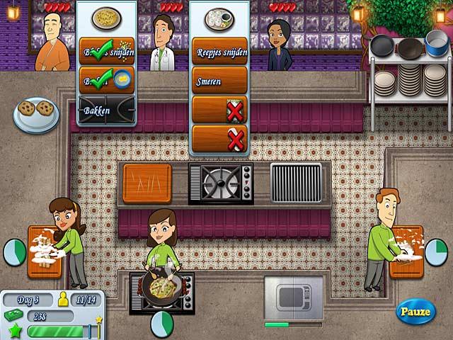 Spel Screenshot 2 Kitchen Brigade
