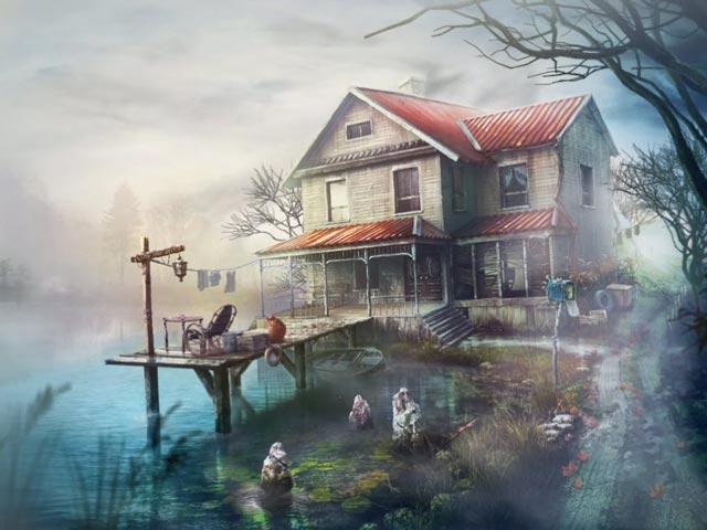 Spel Screenshot 1 The Lake House: Kinderen der Stilte Luxe Editie
