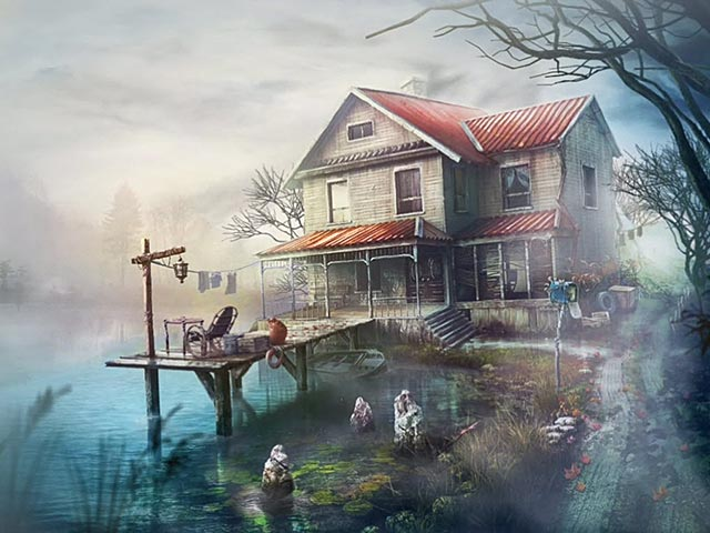 Spel Screenshot 1 Lake House: Kinderen der Stilte