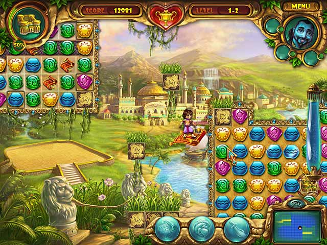 Spel Screenshot 1 Lamp of Aladdin