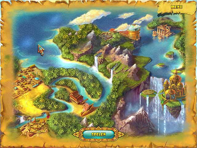 Spel Screenshot 2 Lamp of Aladdin