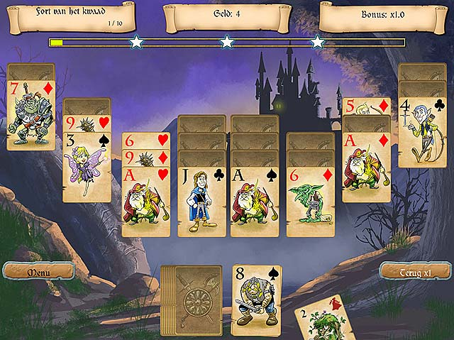 Spel Screenshot 3 Legends of Solitaire: De Verloren Kaarten
