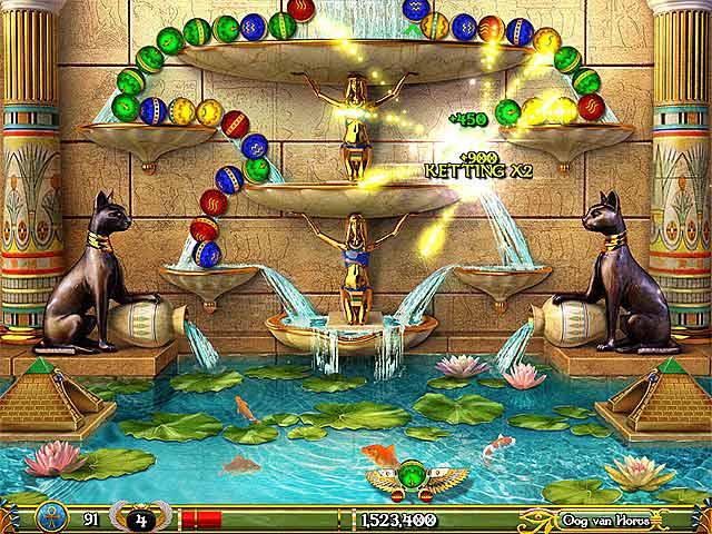 Spel Screenshot 2 Luxor: 5th Passage