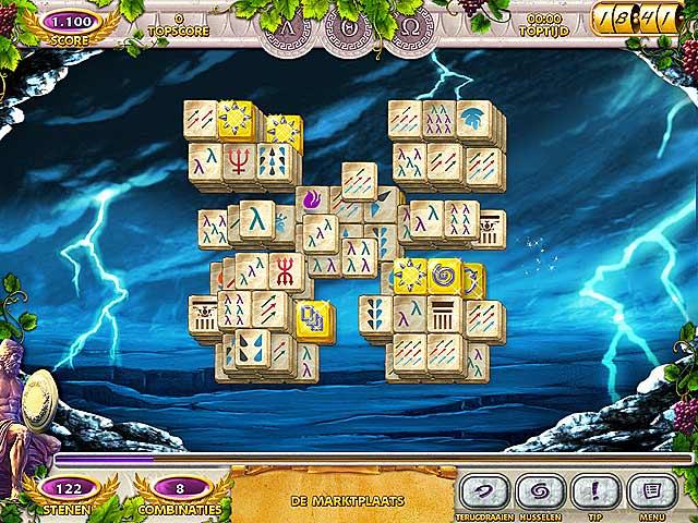 Mahjong Mysteries: Ancient Athena img