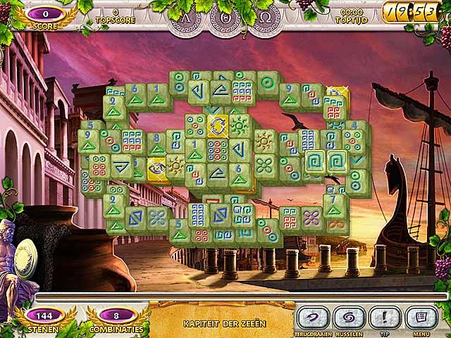 Spel Screenshot 3 Mahjong Mysteries: Ancient Athena