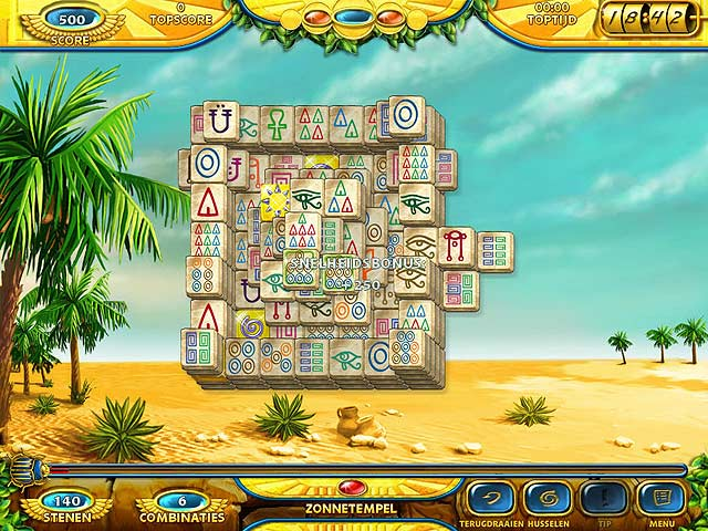 Spel Screenshot 1 Mahjongg: Ancient Egypt