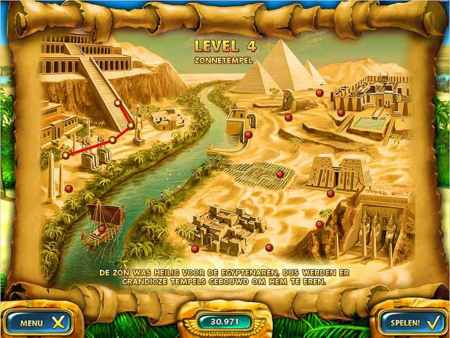 Spel Screenshot 2 Mahjongg: Ancient Egypt