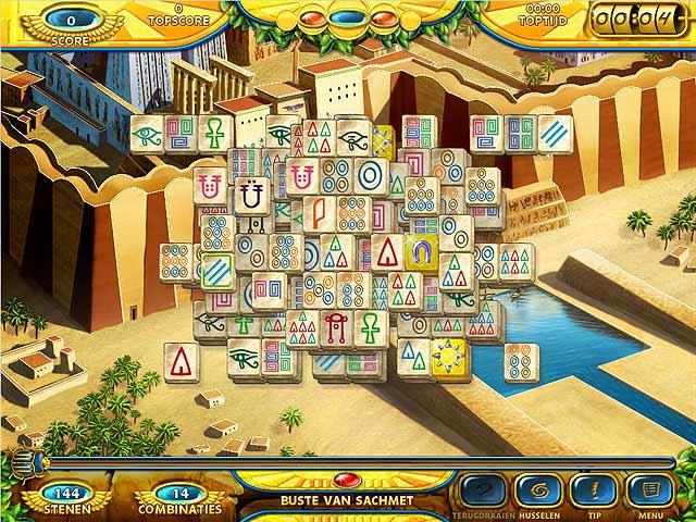Spel Screenshot 3 Mahjongg: Ancient Egypt