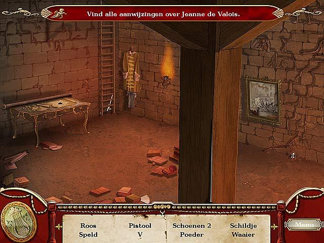 Spel Screenshot 1 Marie Antoinette en de Volgelingen van Loki