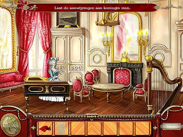 Spel Screenshot 2 Marie Antoinette en de Volgelingen van Loki
