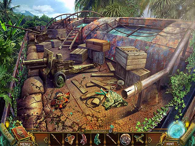 Spel Screenshot 2 Mayan Prophecies: Cursed Island Collector's Edition