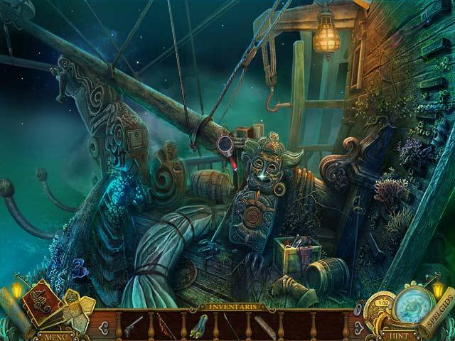 Spel Screenshot 2 Mayan Prophecies: Het Spookschip Luxe Editie