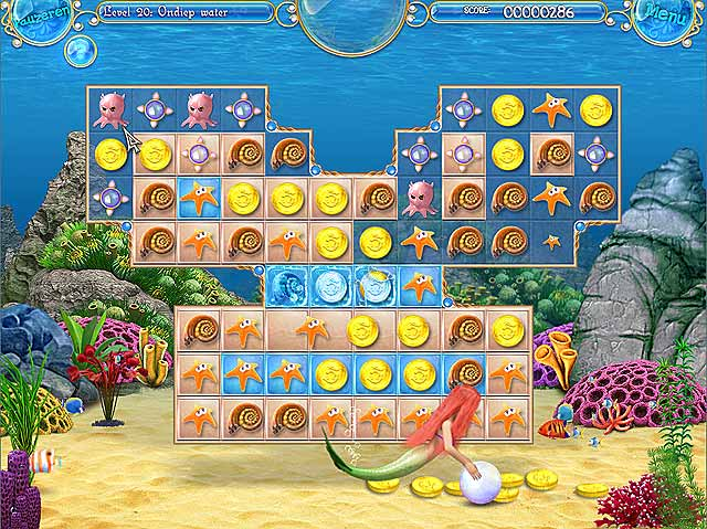Spel Screenshot 2 Mermaid Adventures: De Magische Parel
