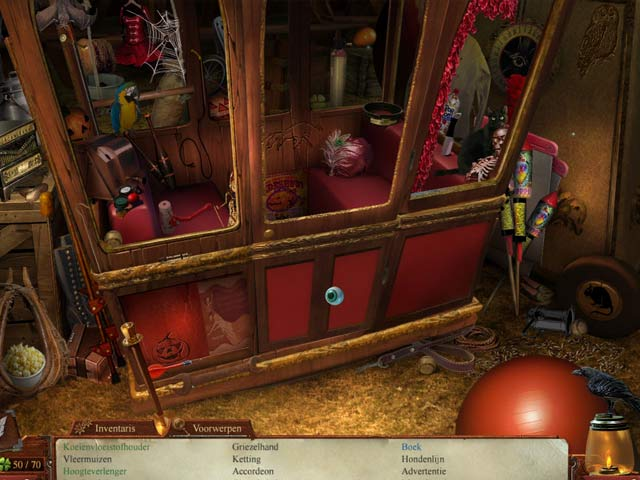 Spel Screenshot 2 Midnight Mysteries: Houdini Geboeid