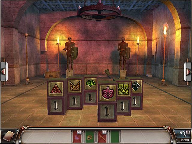 Spel Screenshot 2 Millennium Secrets: Vloek van de Smaragd