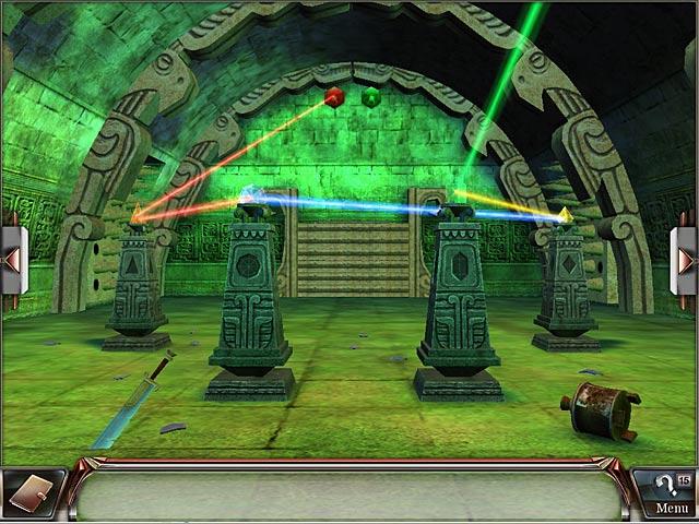 Spel Screenshot 3 Millennium Secrets: Vloek van de Smaragd