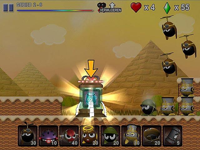 Spel Screenshot 2 Mini Robot Wars
