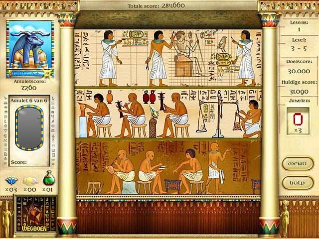 Spel Screenshot 3 Mysteries of Horus