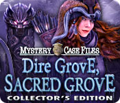 Feature Screenshot Spel Mystery Case Files: Dire Grove, Sacred Grove Collector's Edition