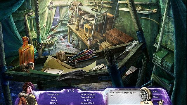 Spel Screenshot 1 Mystery Stories: De Bergen van de Waanzin