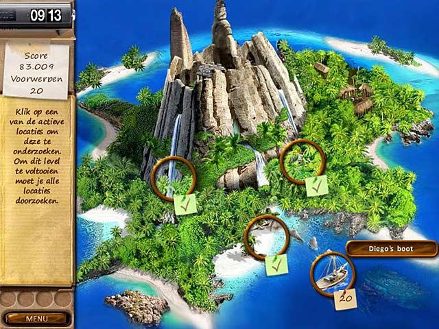 Spel Screenshot 2 Mystery Stories: Island of Hope