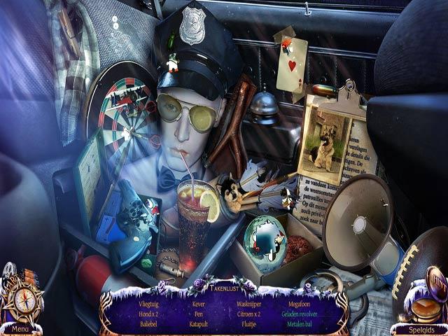 Spel Screenshot 1 Mystery Trackers: De Vier Azen Luxe Editie
