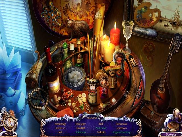 Spel Screenshot 2 Mystery Trackers: De Vier Azen Luxe Editie