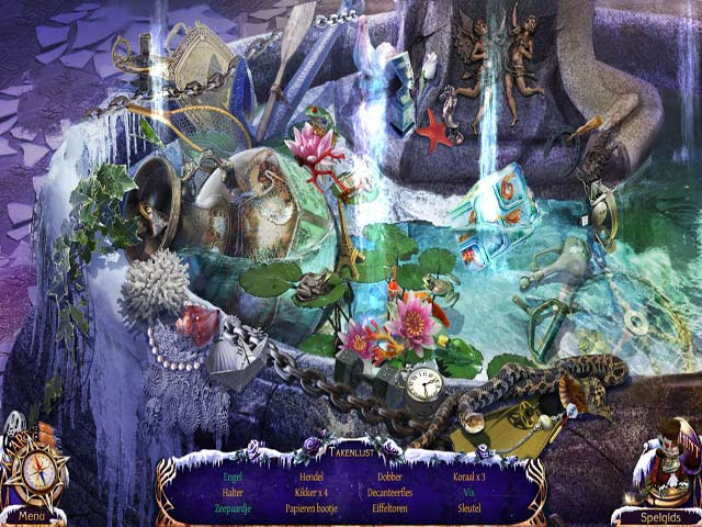 Spel Screenshot 3 Mystery Trackers: De Vier Azen Luxe Editie