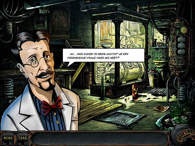 Spel Screenshot 3 Nick Chase: A Detective Story