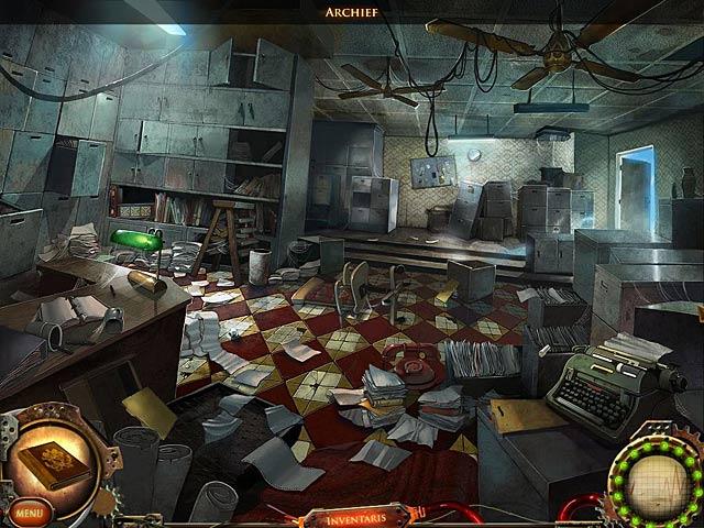 Spel Screenshot 3 Nightfall Mysteries: Samenzweringen in het Gesticht