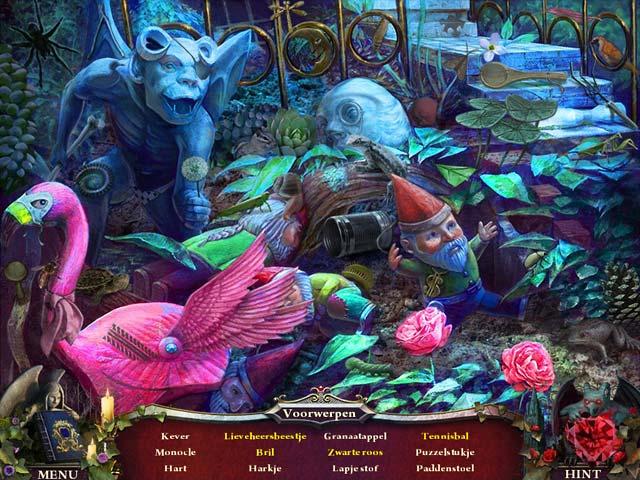 Spel Screenshot 1 Nightfall Mysteries: Zwart Hart