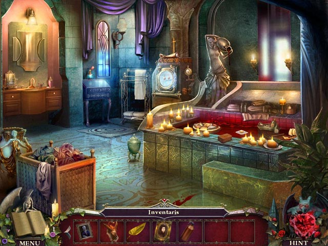 Spel Screenshot 2 Nightfall Mysteries: Zwart Hart