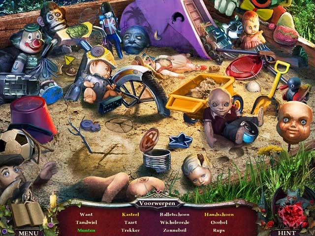 Spel Screenshot 3 Nightfall Mysteries: Zwart Hart
