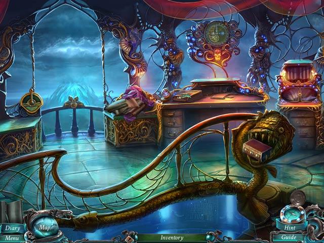 Spel Screenshot 2 Nightmares from the Deep: Davy Jones Collector's Edition
