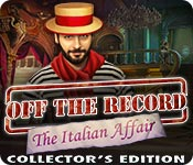 Feature Screenshot Spel Off the Record: The Italian Affair Collector's Edition