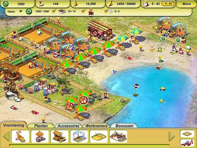 Spel Screenshot 2 Paradise Beach 2: Around the World