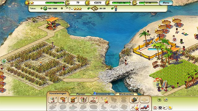 Spel Screenshot 3 Paradise Beach