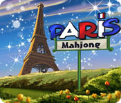 Feature Screenshot Spel Paris Mahjong