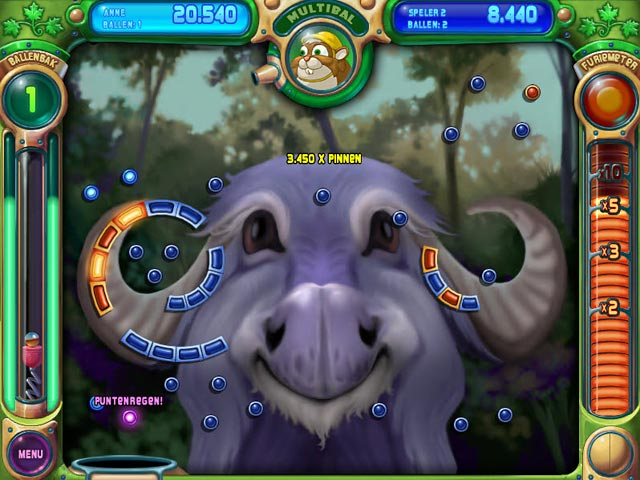 Spel Screenshot 1 Peggle Deluxe