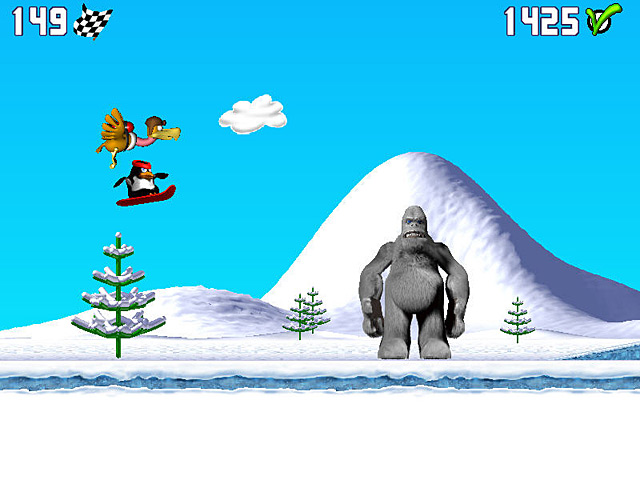 Spel Screenshot 1 Penguin versus Yeti